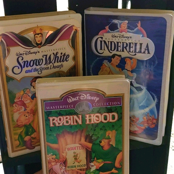 VHS 3pk Disney